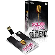 Music Card: Golden Voices Indian Classical Female Vocalist - 320 Kbps Mp3 Audio (4 GB)