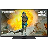Panasonic TV TX-43FX550B 43-Inch 4K UHD Smart TV HDR with Freeview - 2018 TV| 4k Netflix Streaming & Amazon Fire TV Compatible [Energy Class A]