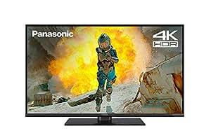 Panasonic TX-43FX550B 43-Inch 4K Ultra HD HDR Smart TV with Freeview Play (2018 Model) - Black