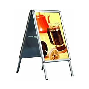 A1 A-Board Pavement Display Board Sign - Snap Frame - FREE SHIPPING