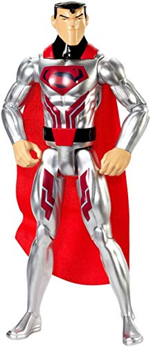 Mattel FPC61 Sammelfiguren DC Justice League Basis-Figur Krypton Tech Superman boys, 30 cm