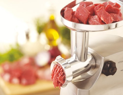 410fH4hBusL - Kenwood MG510 Meat Grinder, 1600 W, Silver