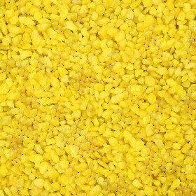 Deco Granulat, 1000Gramm–Gelb (Künstliche)