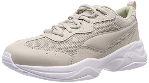 Puma cilia, sneakers basses femme - gris...