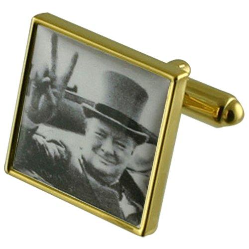 winston-churchill-manchette-avec-pochette-cadeau-selectionner