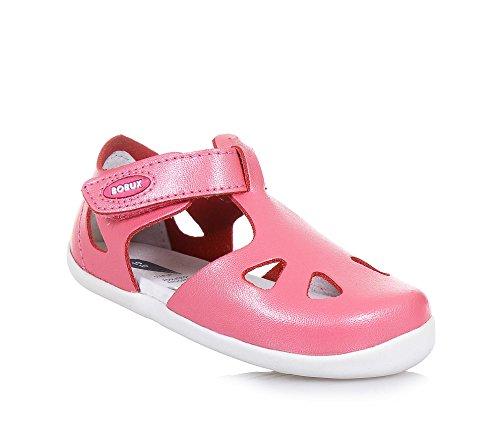 Passi Up Bambina Step Sandalo Velcro Primi Chiuso Rosa 725806 Bobux 3j5q4ALR