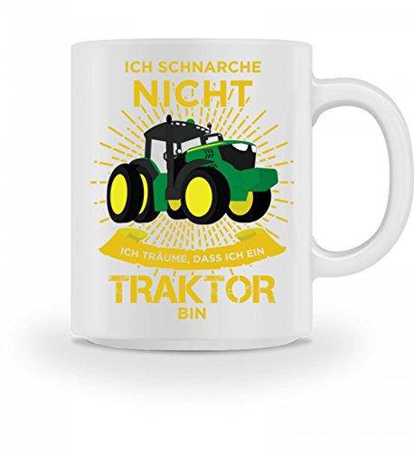 Hochwertige Tasse - Ich Schnarche Nicht Ich Träume Dass Ich Ein Traktor Bin Landwirt Geschenk