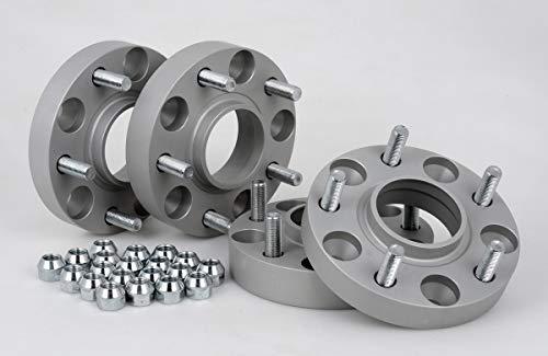 Spurverbreiterung Aluminium 4 Stück (20/30 mm pro Scheibe / 40/60 mm pro Achse) inkl. TÜV-Teilegutachten