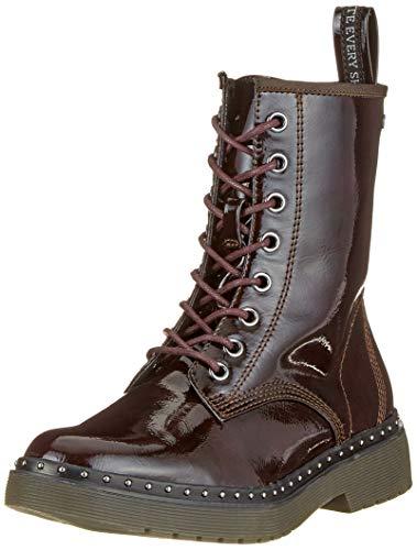 Tamaris Damen 26298-31 Combat Boots Rot (Bordeaux Pat. 580) 38 EU