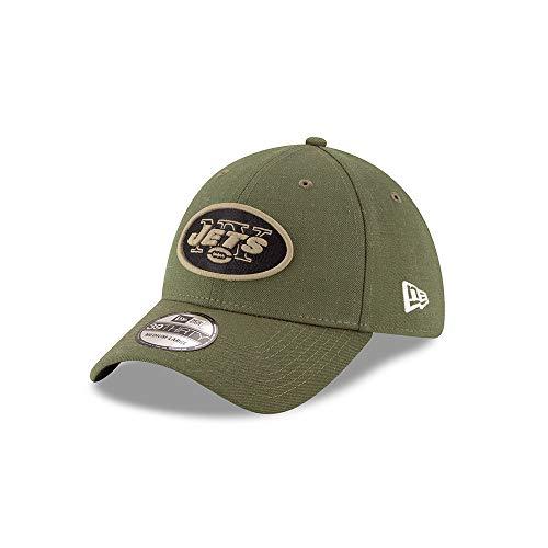 8ea90f572ada8 New Era Mens NFL 2018 Salute to Service 39Thirty Flex Fit Hat (Large X