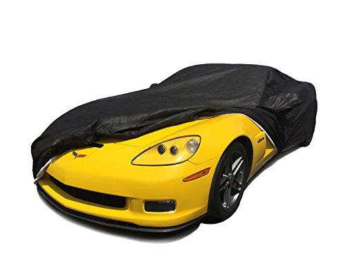 C6 2005-2013 Chevy Corvette Custom Auto Abdeckung 5 Schicht Wasserdicht Schwarz UltraShield (Corvette C6 Abdeckung)