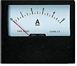 drehs puli Nstrument amperometro analogico 5a indicatore