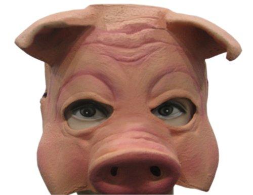 Cosplay Game Best Video Kostüme (Latex Maske-Form-lustiges Schwein)