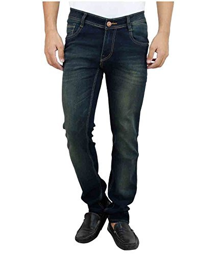 Ben Martin Men's Relaxed Fit Jeans (BMW-JJ3-GREEN-P6-38)