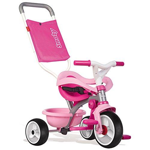 Unbekannt Be Move Comfort mitwachsendes Dreirad ab 10 Monaten in rosa mit Tasche • Kinderdreirad Kinderfahrzeug Kinder Fahrzeug Rutscher Spielzeug Auto