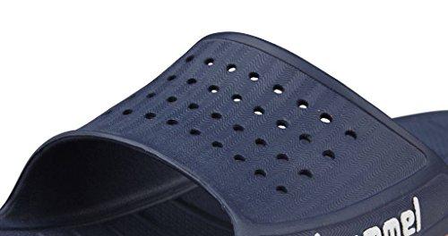 Hummel badelatschen Sandal 60091 - DRESS BLUE/FLAME