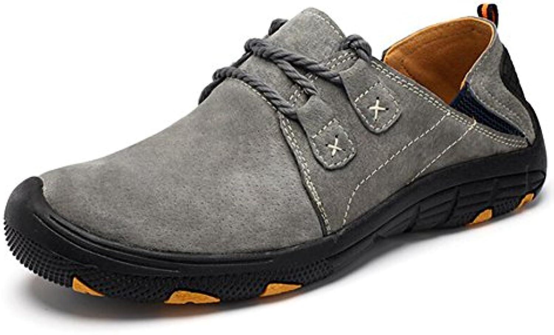 GLSHI 2018 Zapatos nuevos para hombres Zapatos de senderismo antideslizantes al aire libre Slip-ons & Loafers  -