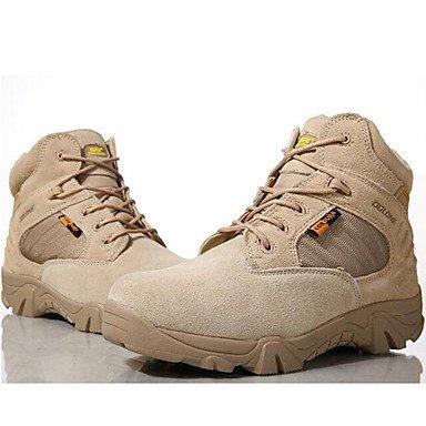 Love & Shoes Scarpe da uomo Outddor/Ufficio/vestito/Casual/lavoro Stivali camoscio nero/grigio Black