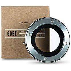 Gobe - Bague d'adaptation pour objectifs : Compatible avec Les objectifs Rollei SL35 (QBM) et Les boîtiers Sony de Gamme E