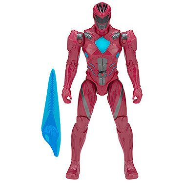 Power Rangers : Der Film – Roter Ranger – Action Figur 12 cm + Zubehör (Power Ranger Action Hero)