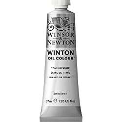 Winsor & Newton Winton - Tubo óleo, 37 ml, color blanco de titanio