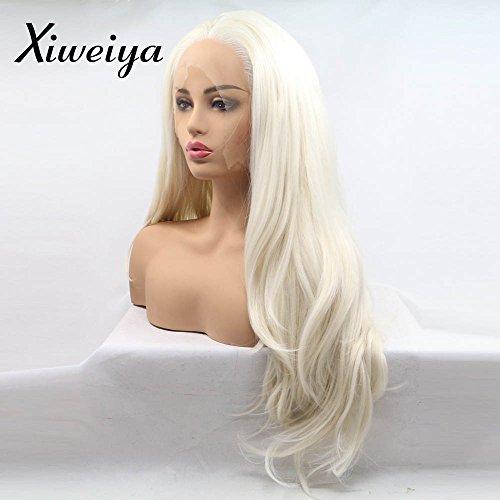 Xiweiya - Peluca larga ondulada