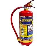 Safe Pro ABC Powder Type Fire Extinguishers Capacity (Red, 6 Kg)