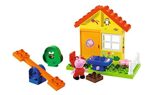Big - 800057073 - Peppa Big - Jeu de Construction - la Maison de Vacances de Peppa Pig - 19 Pièces