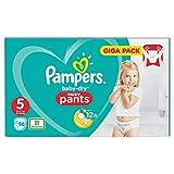 Pampers Baby-Dry Pants Größe 5, Windeln, Mit Luftkanälen, 96 Stück