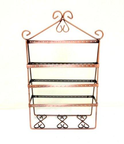 chic-citizen-vintage-wire-jewelry-organizer-ohrring-halter-baum-stander-organizer-kupfer
