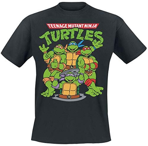 Ninja Turtle Shirt - Teenage Mutant Ninja Turtles Group T-Shirt