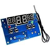 tenflyer tmalltech DC 12V/24V LED numérique thermostat Contrôleur de température -9-99C + capteur de température, DC 12V