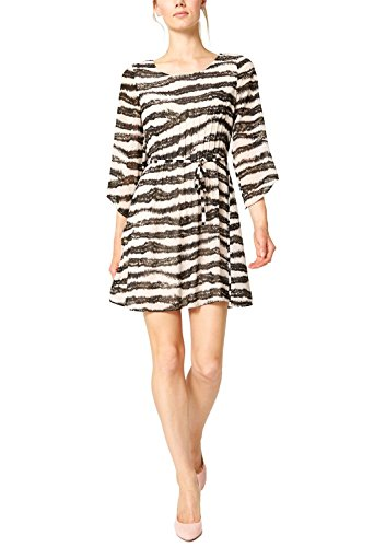 s.Oliver Premium - mit Zebraprint, Vestito da donna, rosa (sheer nude aop 40a2), (S / S Sheer)