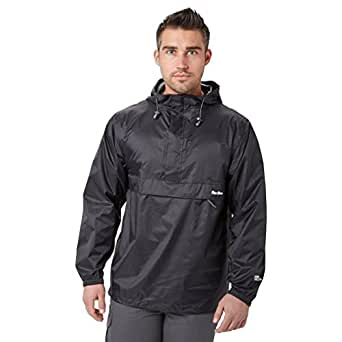 Peter Storm Men's Packable Cagoule, Black, XS