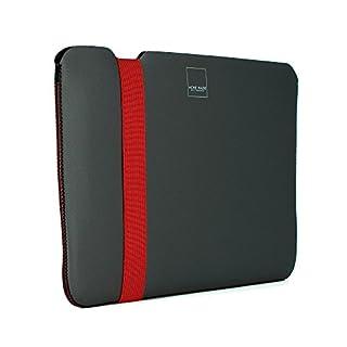 Acme Made Skinny Sleeve for MacBook Air 11-Inch - Grey/Poppy Orange