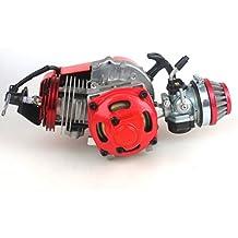 wingsmoto 49cc 52cc Big Bore Motor para bicicleta de bolsillo con rendimiento Cilindro CNC Motor, Motor de carreras carburador DIY
