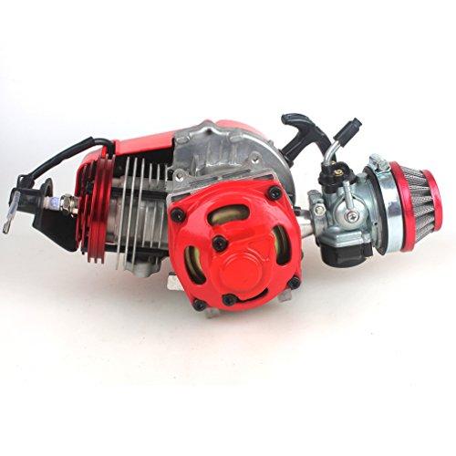 Wingsmoto 49cc 52cc Big Bore Pocket Bike motore con performance cilindro CNC motore di Racing carburatore DIY moto