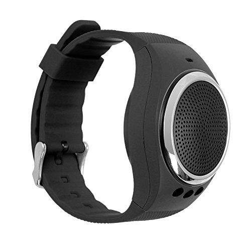 VOSMEP-SoundWatch-Pulsera-de-Msica-Inteligente-Pulsera-Creativa-Altavoz-Deportes-Bluetooth-soporte-Calidad-de-Sonido-de-Alta-Definicin-Bluetooth-4030-Podmetro-Temporizador-Remoto-Caloras-Contestar-el-