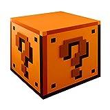 Super Mario lámpara signo de interrogación con sonido USB y la batería 16x16x18cm operación