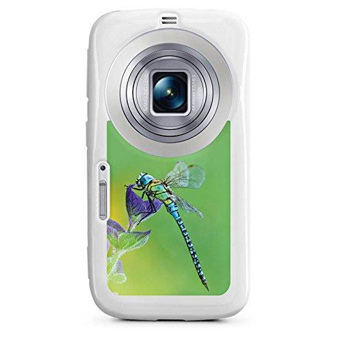 DeinDesign Samsung Galaxy K Zoom Hülle Silikon Case Schutz Cover Libelle Insekt Insekten