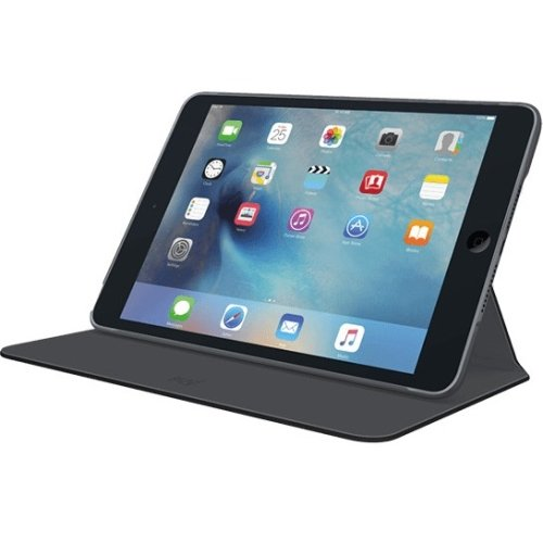 Logitech-Hinge-Ultra-Thin-Protective-Case-Cover-for-iPad-Mini-4-Black