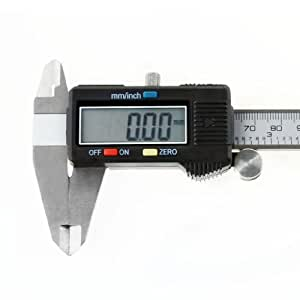 BargainUniverse® 150mm (6 inches) LCD Digital Vernier Gauge Caliper Micrometer -Top QualitY --Bargain Universe--