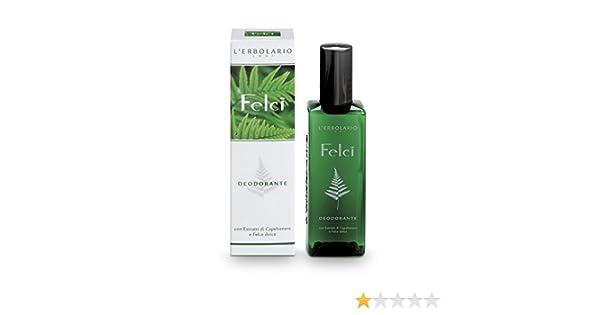 Sali Da Bagno Erbolario : Lerbolario 062.972 deodorante felci 100 ml: amazon.it: bellezza