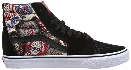Vans Herren Sk8-Hi Hightop Sneaker Schwarz/Mehrfarbig