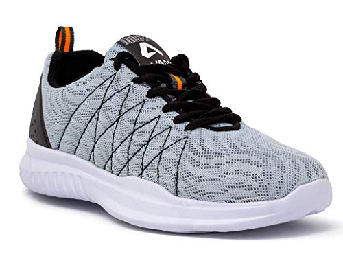 Avant Men's Grey Ultra Light Running and Training Shoes - 7 UK
