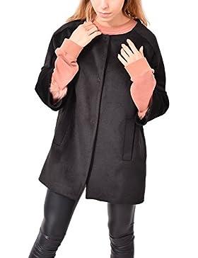 Cappotto Nero Corean Gancetti Abbigliamento Moda Donna