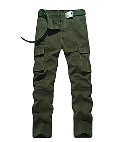 Pantalon Treillis Vintage - YiJee Multi Poches Vintage Trouser Pantalon Homme