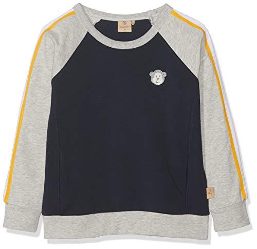 Bellybutton mother nature & me Jungen 1/1 Arm Sweatshirt, Blau (Navy Blazer|Blue 3105), 104
