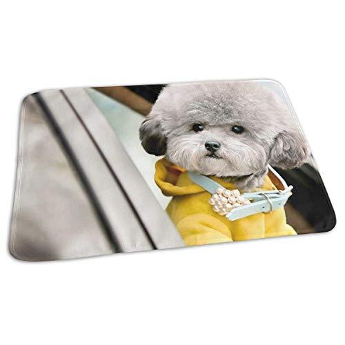 Voxpkrs Baby Changing Pad Liners Cute Dog Print Weiche Wickelauflage für Jungen Mädchen 25.5