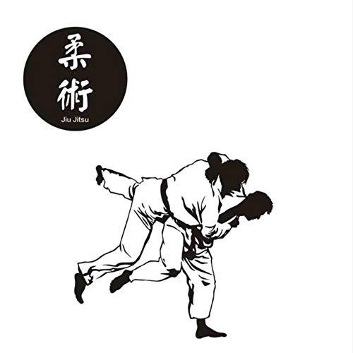 Hwhz 40X42 Cm Boxing Club Judo Taekwondo Karate Aufkleber Kick Boxer Spielen Auto Aufkleber Free Combat Poster Vinyl Stürmer Wandtattoos Dekor A
